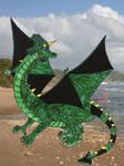 Emerald the DRAGON xD by SamBlob