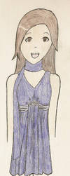 Fun Purple Dress by Sirairial