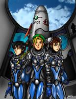 Street Fighter Rocket Girls (2008) by jarloworks