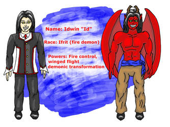 EA  Idwin the Ifrit by shadow-otm