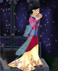 Mulan Lotus by Sonala