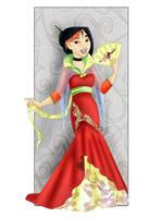 Mulan: New dress by Sonala
