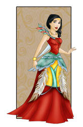 Pocahontas: New dress by Sonala