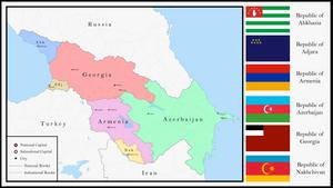 Transcaucasian Federation by NotEliotK