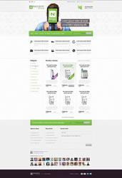 [WIP] Noark e-commerce homepage by djonas3