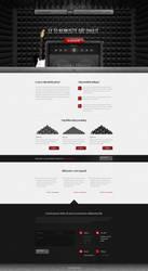 Czech's acoustic foams seller website design. by djonas3
