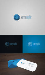 Verresaphir - Logo + Business Card by djonas3