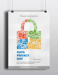 Microsoft's Data Privacy Day poster/flyer by djonas3