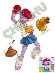 Chuchu - Pet Society by Micchu