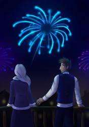 New Year by Saari
