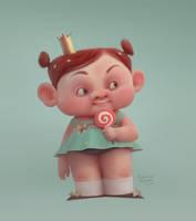 princess by baydaku