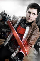 Red hood- All-blade by JonathanDuran