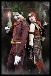 The Joker and Harley Quinn-Injustice by JonathanDuran