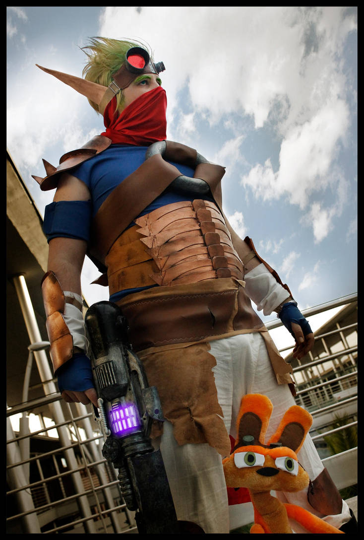 Jak 3 Precursor armor by JonathanDuran