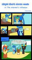 Stupid short eevee comic #2 by pinkeevee222