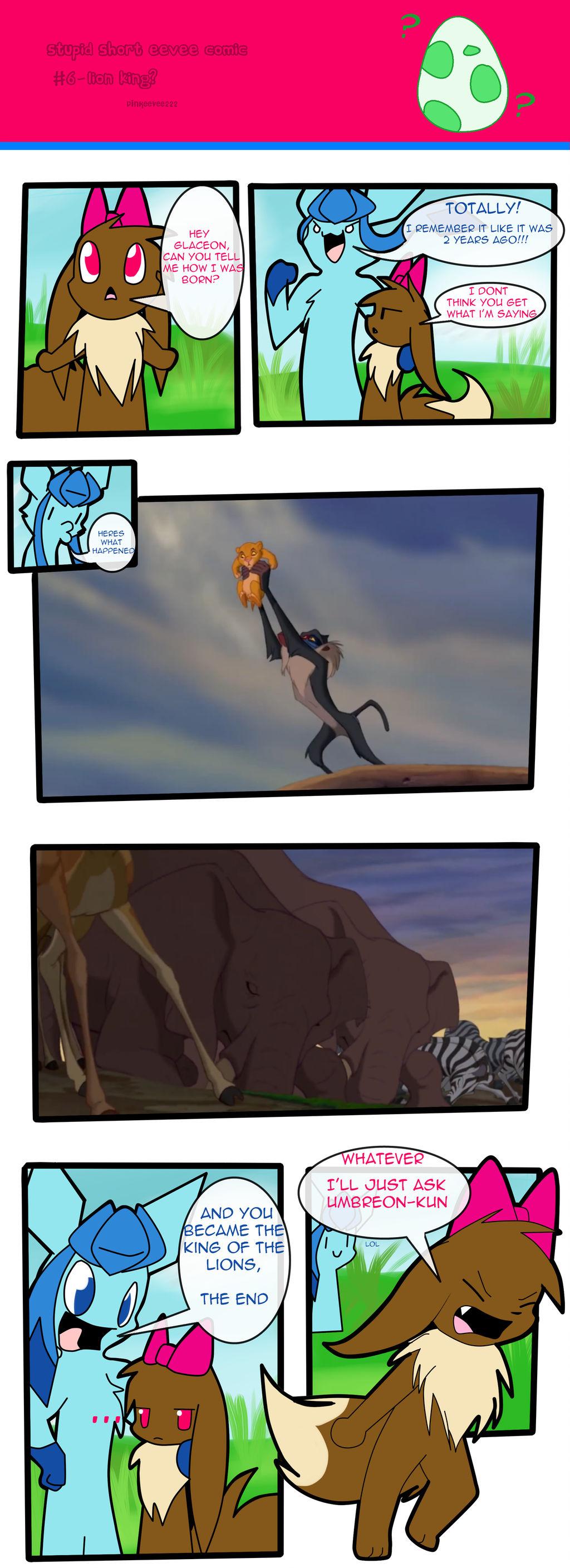 Stupid short eevee comic 6 by pinkeevee222