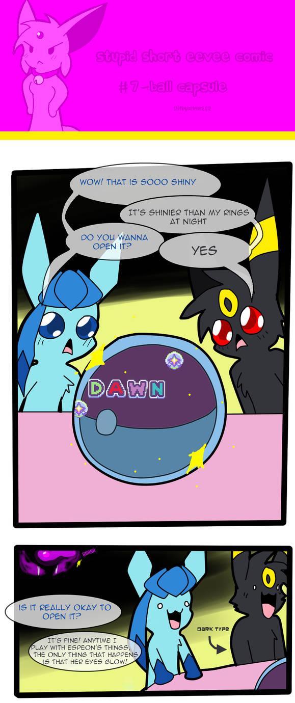 Stupid Short Eevee Comic 7 by pinkeevee222
