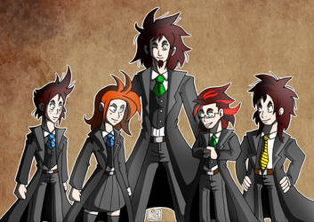 Hogwarts RP - Our group by Gihellcy-Bleizdu