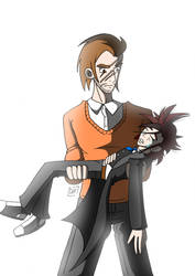 Hogwarts RP - Lys and Lupin by Gihellcy-Bleizdu