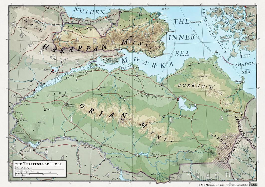Atlas Elyden #22 - Lidea by vorropohaiah