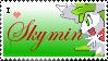 I heart Skymin Stamp by Balaczter