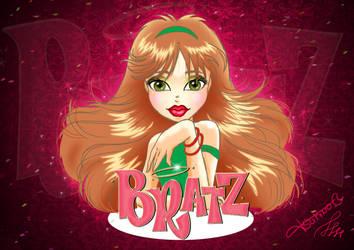 2do Dibujo Wacom BRATZ by Danny-Tsukino
