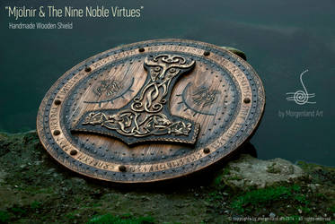 Mjolnir The Nine Noble Virtues II by morgenland