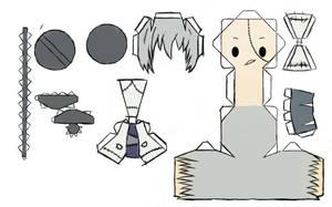 Stein Papercraft by uzumara