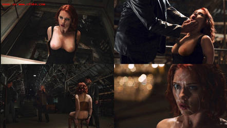 Black Widow's Interrogation by pussycleaner