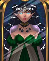 Queen Nehelenia by OriginStory