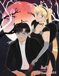 Mamoru and Usagi's Halloween Date Night by OriginStory