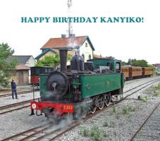 Happy Birthday Kanyiko by Brit31