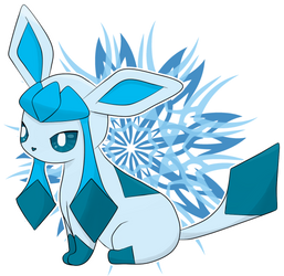 Glaceon by ChibiLyra