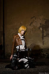 Armin Arlert Cosplay - Shingeki no Kyojin by DakunCosplay