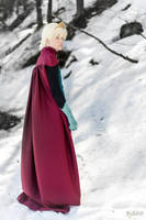 Elsa Cosplay (Male Version - Elias) - Alone by DakunCosplay