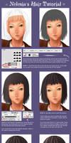 Nelesia's Hair Tutorial by nelesia