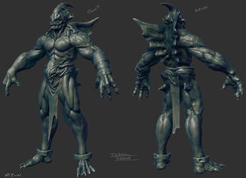 Tidal Demon Wip02 by EddieMunoz