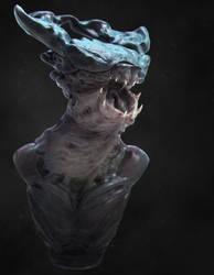 Insect Bust by EddieMunoz