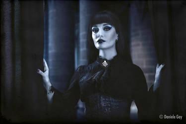 the dark lady by D4N13l3