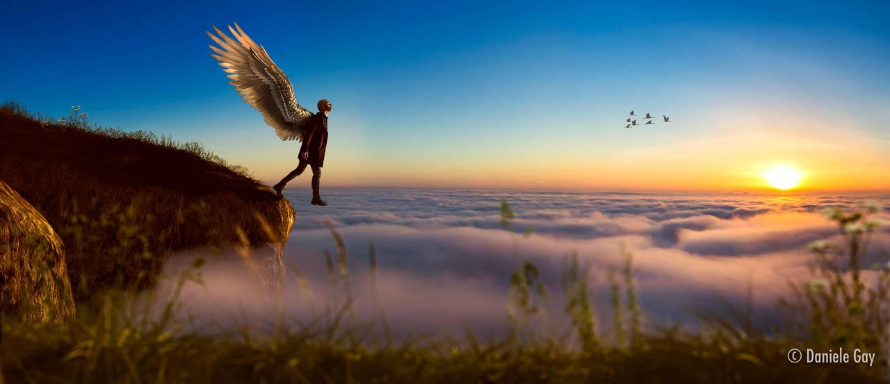 Jump! You'll find out that you can Fly! by D4N13l3