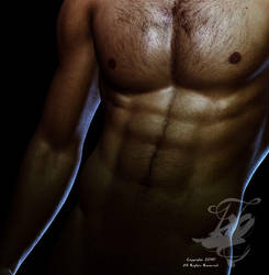 Male Torso by nocturnalcuriosities