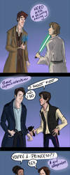 When Doctor Who and Star Wars collides by Yohiri