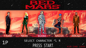 Red Mars Game Screen by skullanddog