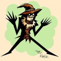 Scarecrow color sketch by edbot5000