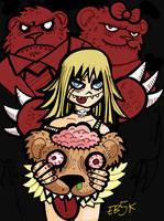 New Sketch: Goldilocks by edbot5000