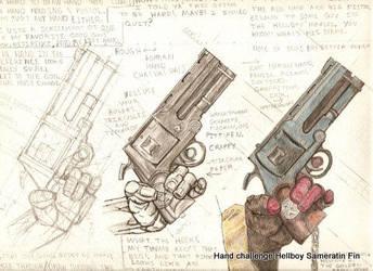 Last 3  Hand Holding Firearm by tarpalsfan