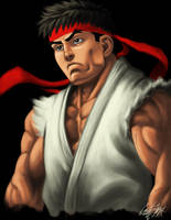 Ryu Tribute by cortezmaronie