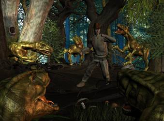 Raptors by Snakesqueezer