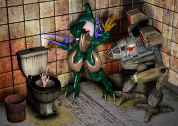 Living in Underground by Snakesqueezer