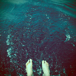 Put your feet into the water by YourEndlessDream